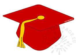 preschool graduation caps preschool graduation cap clipart coloring page