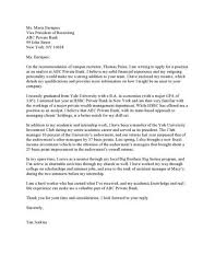 wealth manager cover letter