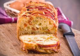 cuisiner le poivron recette de cake au poivron et au bacon