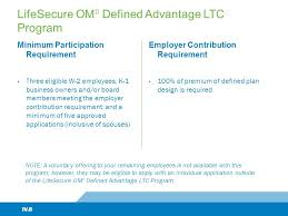 new ltc ii with shareability option hi level overview lifesecure