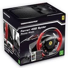 ferrari steering wheel thrustmaster vg ferrari 458 spider racing wheel and the crew xbox