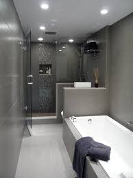 Bathroom Tile Wall Bath Toilet Setup For Ensuite Perhaps Plant Along Wall