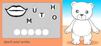 english vocabulary for kids body
