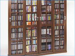 Dvd Storage Cabinet With Doors Dvd Storage Cabinet With Glass Doors Home Design Ideas