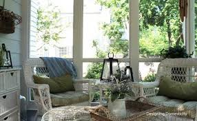 screen porch furniture ideas summer decorating ideas for a lovely