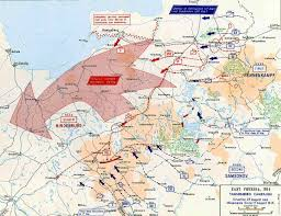 Europe Map 1914 Map Of The Tannenberg Campaign 1914