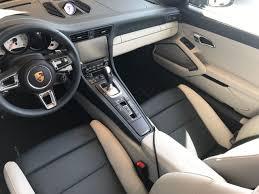 porsche graphite blue interior new 2018 porsche 911 turbo cabriolet