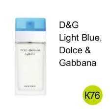 D And G Light Blue женские