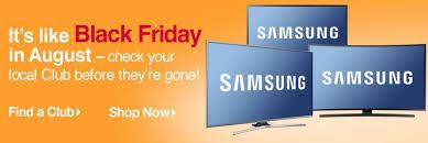 best black friday tv deals online 2016 bjs com black friday in august for tvs