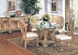 Glass Round Dining Room Table Dining Room Formal Dining Room Furniture Sets With Round Dining