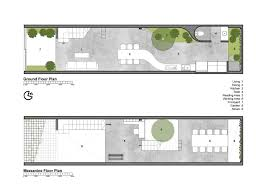 lee u0026tee house block architects vietnam floor plan 1
