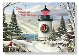 nautical christmas cards designer greetings farm studio boxed christmas