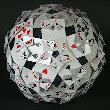 card polyhedral construction