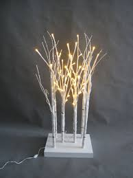 Floor Lamp Tree Branches Jt Home U0026gift Led 6 Piece Forrest Birch Tree Table Lamp