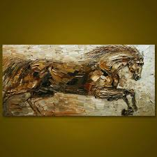 online buy wholesale running horses painting from china running