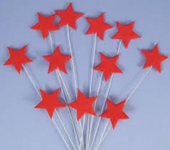 Butterfly Cake Decorations On Wire Star Cake Toppers