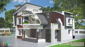 contemporary 4 bedroom house kerala home design and floor plans