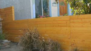 build a horizontal fence and fence gate youtube
