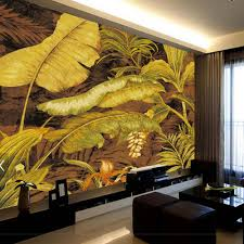 online buy wholesale banana leaf wallpaper from china banana leaf