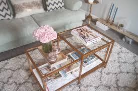 ikea hacks coffee table ikea hack a gold marble coffee table georgi a beautifully
