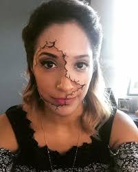 Halloween Makeup Pretty Pretty Coworker U0027s Halloween Makeup Imgur