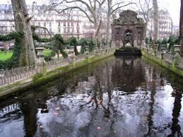 file jardin du luxembourg medici fountain in winter jpg