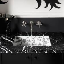 Bathroom Vanity San Jose by Black Bathroom Vanity With Tile Backsplash Back Splash Wood Framed