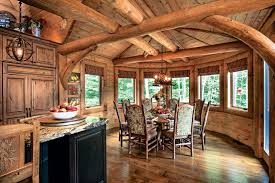 wood interior homes choosing windows for your log home