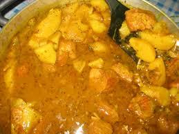 cuisine colombo veritable colombo de porc de denis a la guadeloupéenne delices