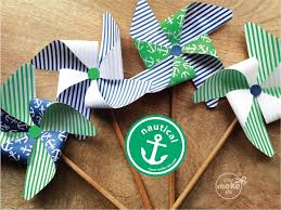 Nautical Table Decorations Nautical Party Decorations Nautical Birthday Decorations Nautical