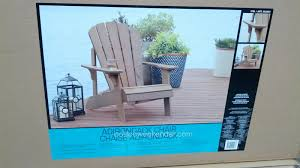 Tommy Bahama Beach Chairs At Costco Faux Wood Adirondack Chair Costco Weekender