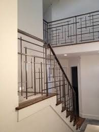wrought iron stairway railing toronto custom metal railings