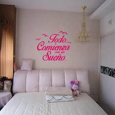 169 Best Wall Decals Images by Aliexpress Com Buy Spanish Quote Vinyl Wall Stickers Bedroom