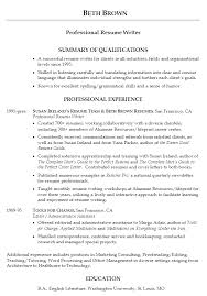 examples of a great resume examples of good resumes that get jobs