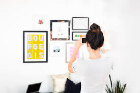 to hang a gallery wall