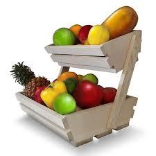 cheap fruit baskets folding wooden fruit baskets wooden fruit vegetable display rack