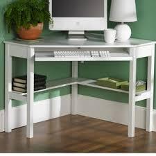 Wooden Corner Desk Top Have Slide Out Drawer For Keyboard by Corner Desks You U0027ll Love Wayfair