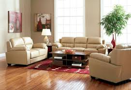 taupe bonded leather liiving room 501931