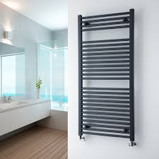 family bathroom ideas milano brook anthracite flat heated towel rail 1200mm x 600mm