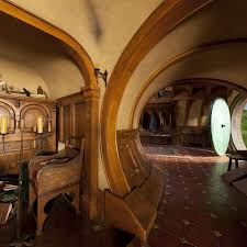 hobbit home interior bag end the best door of all 3 especially with gandalf s runs on