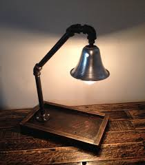 custom lamps industrial styled desk light desk lamp