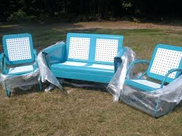 Replacement Cushions Patio Furniture by Loveseat South Hampton Sofa Glider Outdoor Loveseat Glider