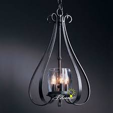 Clear Glass Pendant Light Fixtures Country Iron Art And Clear Glass Pendant Lighting 8298 Free Ship