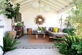 Outdoor Family Room With Flatscreen TV Transitional Deckpatio - Outdoor family rooms