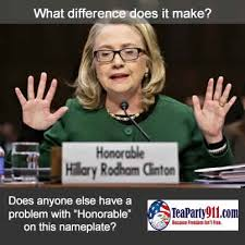 What Difference Does It Make Meme - corruption most foul hillary clinton