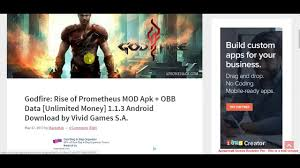 bag it apk godfire rise of prometheus mod apk obb data unlimited money