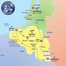 map netherlands belgium map netherlands and belgium major tourist attractions maps