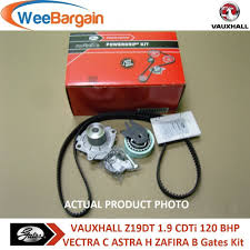 vauxhall vectra c 1 9 cdti 120bhp gates kp25650xs timing belt kit