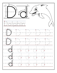 letter d worksheets for preschool kindergarten printable