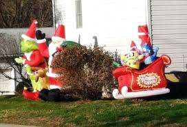 the grinch yard decorations all home ideas and decor dr seuss